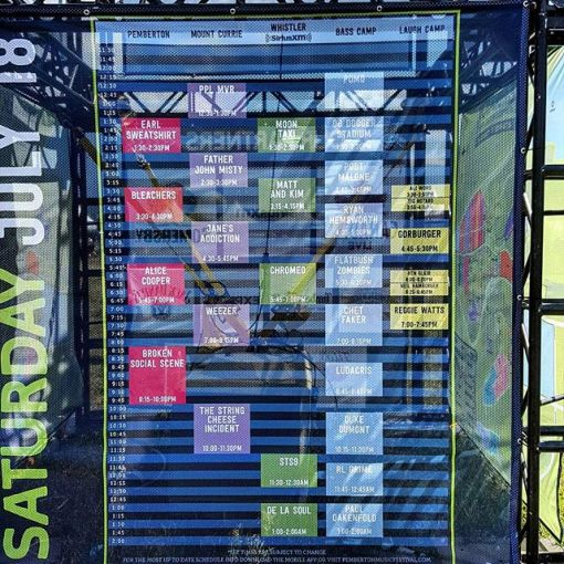 Fabric Mesh Banners