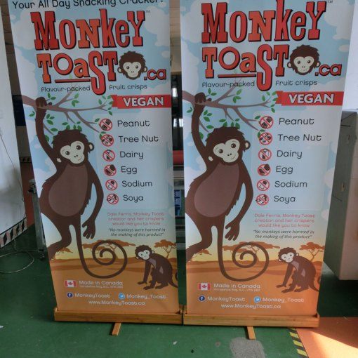 Vancouver-Canada-Wooden-Banner-Stands