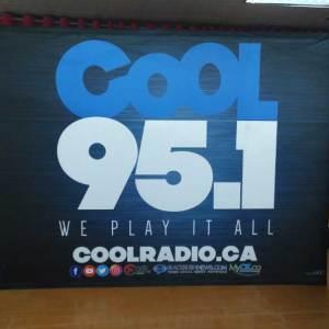Ontario printed backdrops and logo walls