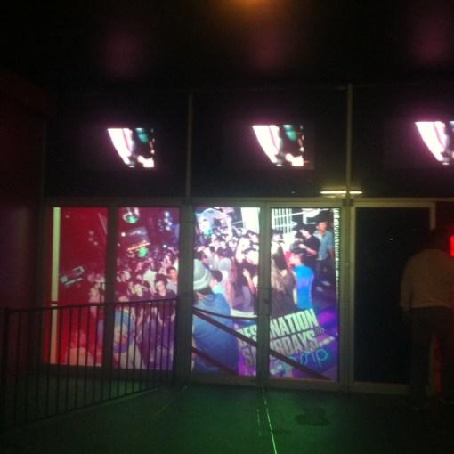 Gossip Nightclub - Rear Projection Film