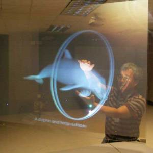 Clear Transparent film for Holographic effect