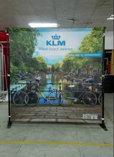 tradeshow backdrop Amsterdam