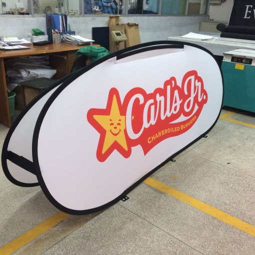 Large Sports pop up banner