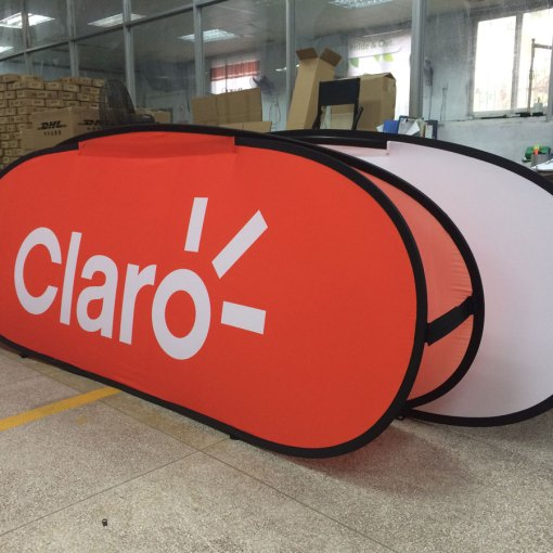 Pop up banner shipped to Panama