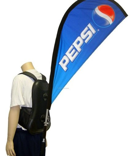 Back pack Tear Drop Flags