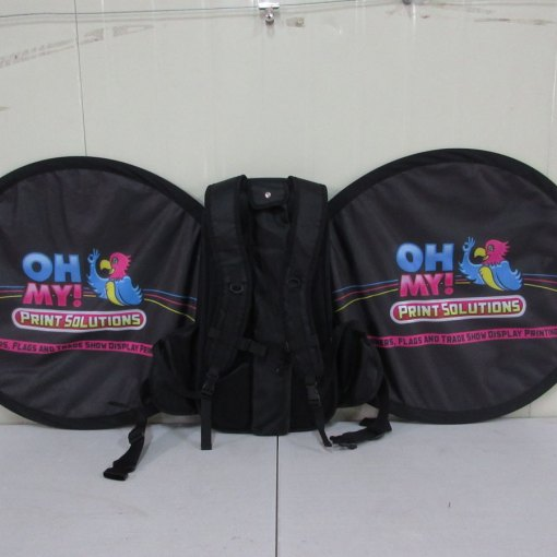 Backpack-Flag-butterfly-shape-double-sided