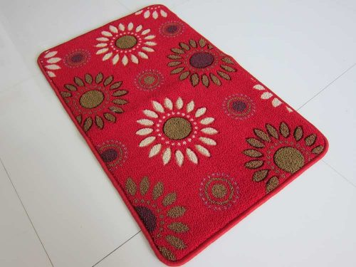 Indoor Mat with Sewn Edges