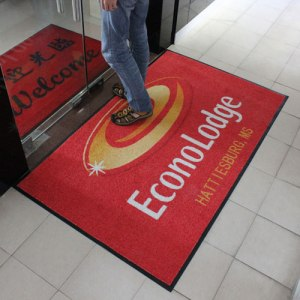 printed mat for business