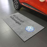 Floor mat custom printed