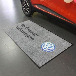 Floor mat custom printed