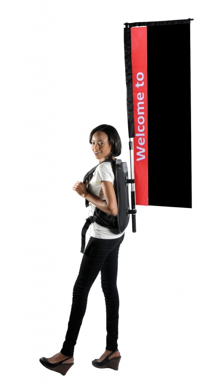 Backpack Flags  Block Feather Teardrop  Free Shipping