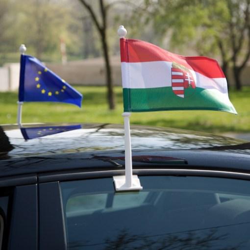 Car window flags