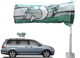 Car Wind Sock Printing