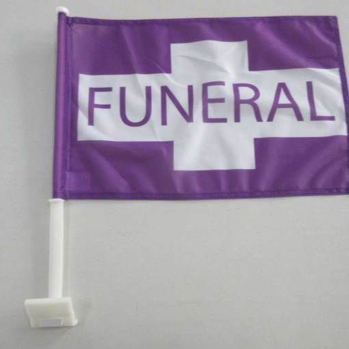 Car Window Flags for Funeral