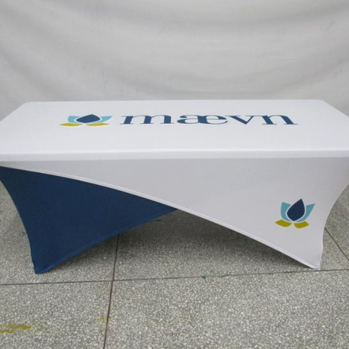 Stretch tablecloths - reversible