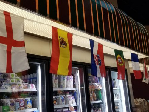 Rectangle Bunting Flags