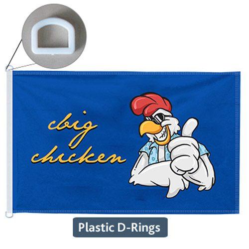 D Ring Flag