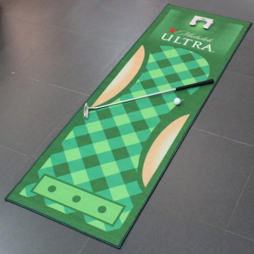 Custom Printed Golf Office Mat