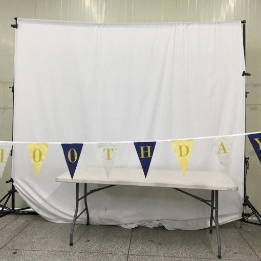 Fabric Bunting Flags for Indoor