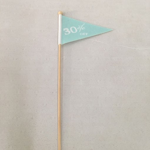 Custom Pennant Stick Flags