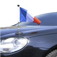 Car Hood Flags