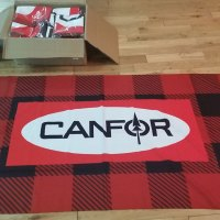 Flag Printing Vancouver to Toronto Canada