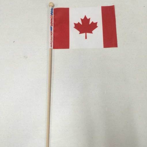 Canada Day hand flag custom printing