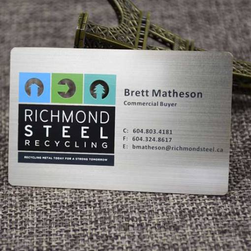 Brushed-Metal-Business-Card