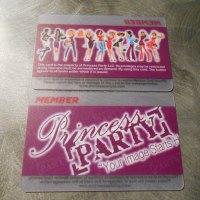 Transparent PVC Cards