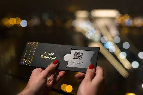 Premium Gift Card Sleeve with Foil