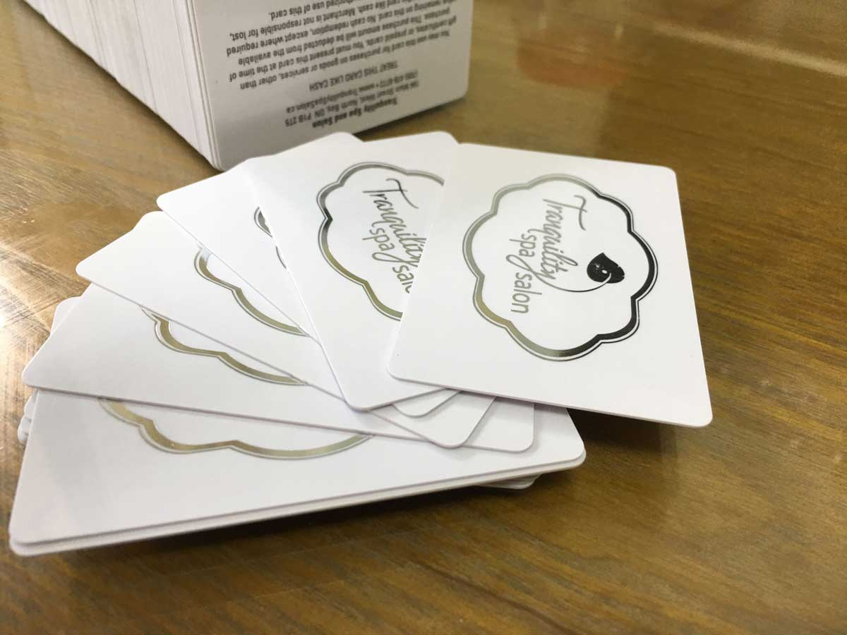 Foil business cards luxury cards free shipping business cards with silver foil magicingreecefo Images
