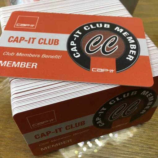 Custom plastic card printing UBC