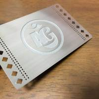 Vancouver metal business cards