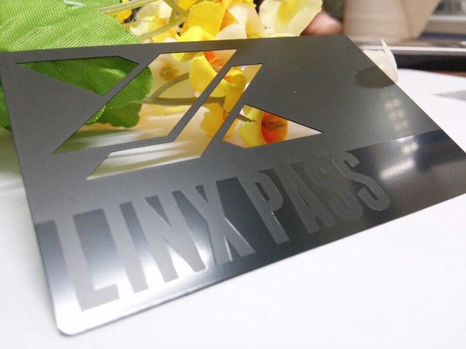 Matte black metal business cards metal business cards die cut reheart Gallery