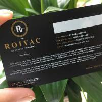 Luxury Business Black Matte Card
