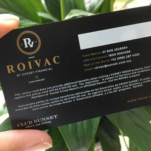 Luxury Business Black Matte Card
