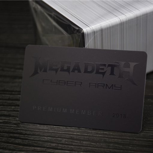 Plastic Cards with Spot UV