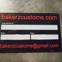 Signature panel gift cards