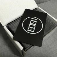 Matte Black Metal Cards