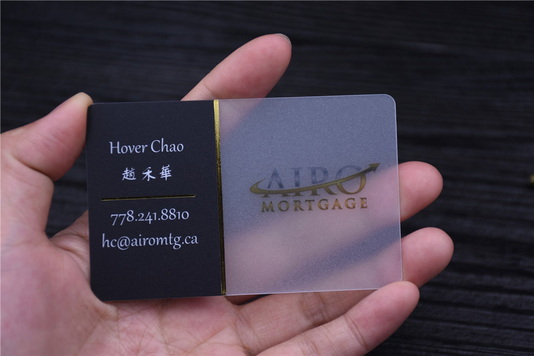 Transparent Business Cards - Clear Business Cards - Free Shipping
