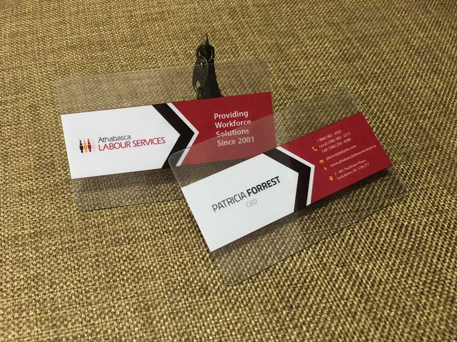 Transparent business cards clear business cards free shipping clear transparent business cards reheart Gallery