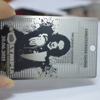 Metal cards canada