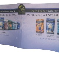 Trade Show Tension Fabric Gill Wing