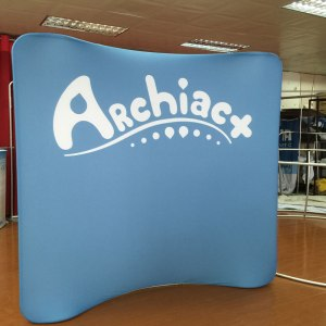 Curved Display 8x8