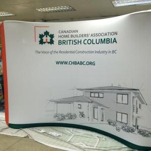 Fabric Backdrop Trade Show Display Printing