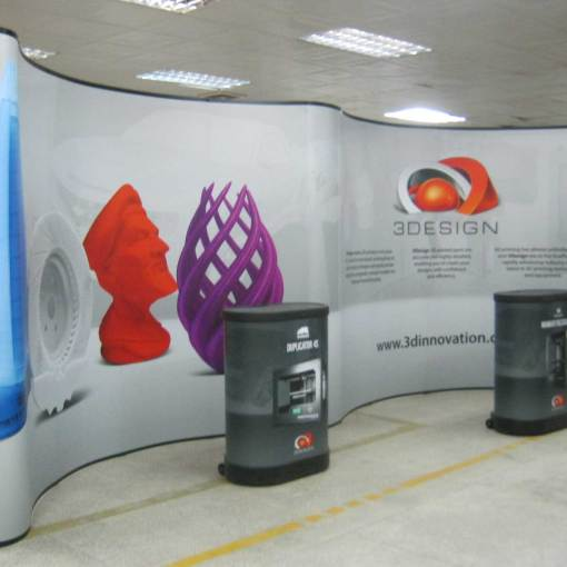 20 foot tradeshow display
