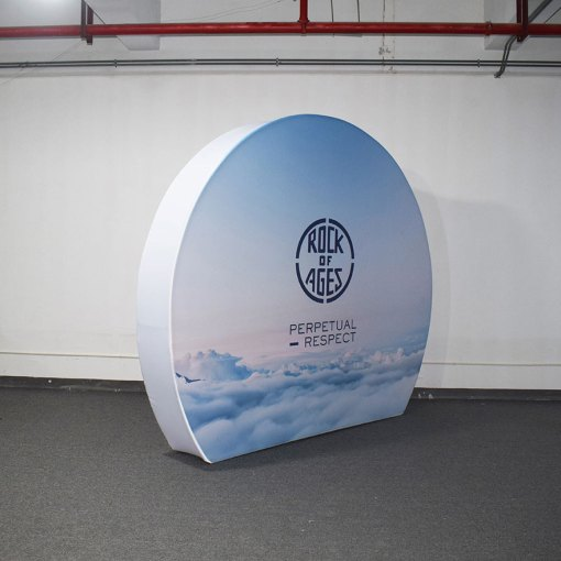 Round Tension Fabric Display