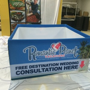 Hanging Display Square for Trade Shows