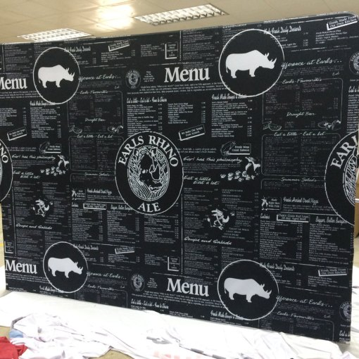 Event Backdrop with Frame