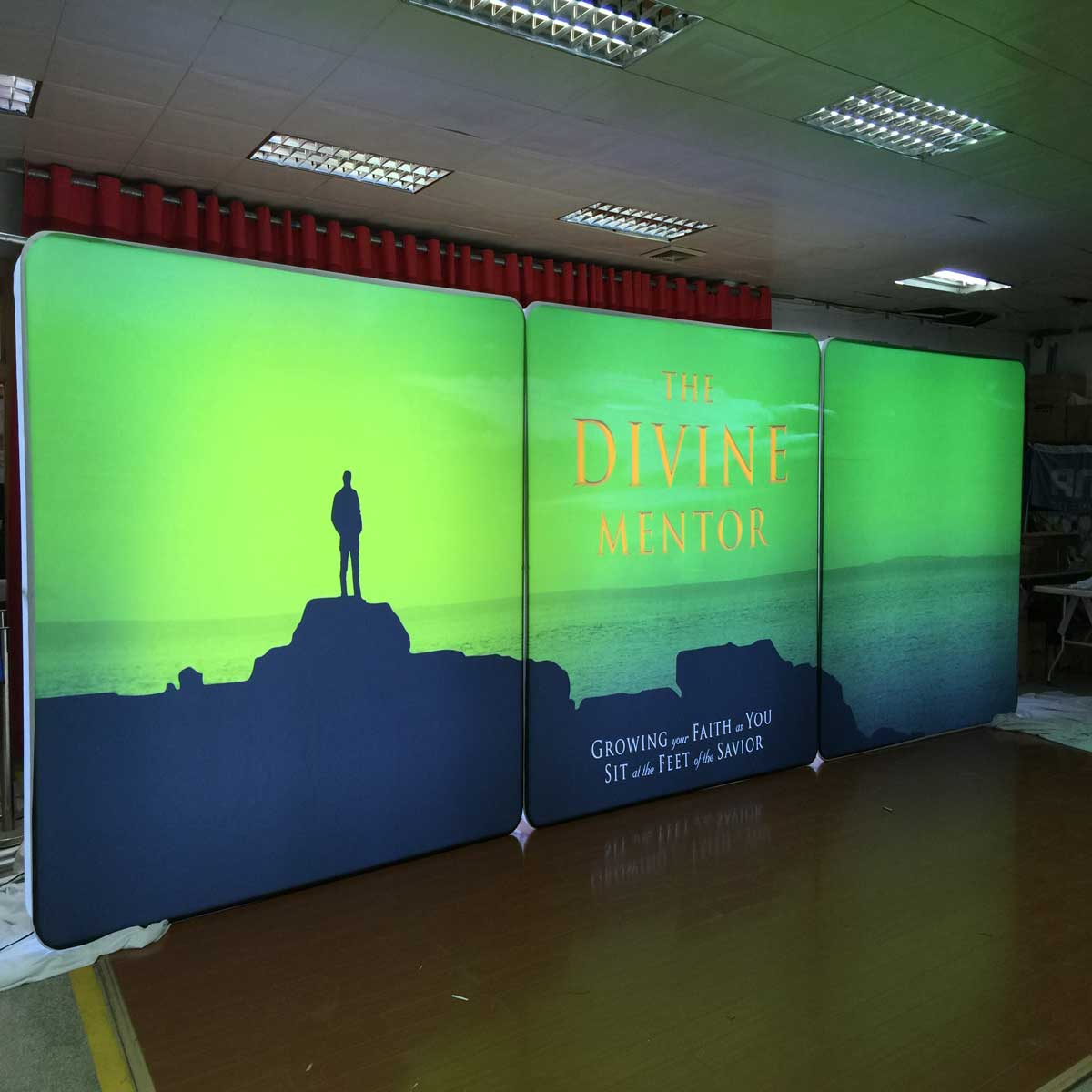Led Lightbox Completely Portable For Tradeshows Free
